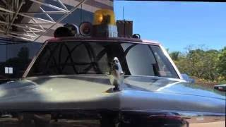 CineMovie Takes A Ride in Ghostbusters Ecto-1