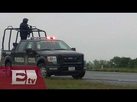 Grupo armado ataca unidad de fuerza civil en Monterrey / Excélsior informa