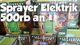 Unboxing Sprayer Elektrik Dgw