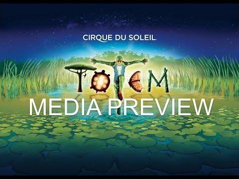 Media Preview of TOTEM by Cirque du Soleil (Singapore)