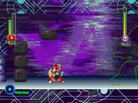 Megaman X5 - Zero Virus Stage 1 (as Zero)
