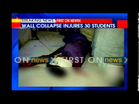 20 Students Injured As School Wall Collapsed In Rajasthan video
