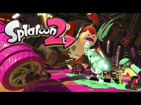 SPLATOON 2 [NINTENDO SWITCH] #5 - SUSHI SAMURAI