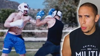 Reacting to Jake Paul BOXING a PRO MMA fighter..