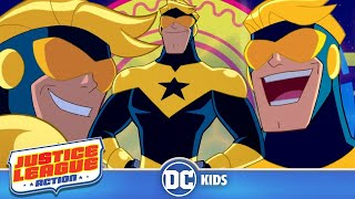 Top 5 Booster Gold Moments | Justice League Action | DC Kids