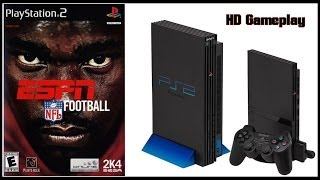 ESPN NFL Football (PS2)(2003) Intro + Gameplay (HD) Raiders V Buccaneers