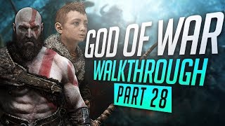 THE DEATH OF BALDUR | GOD OF WAR 4 | PS4 PRO GAMEPLAY W/COMMENTARY PART 28