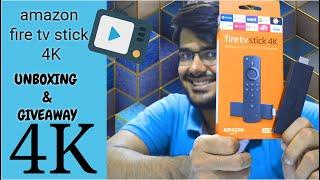 Amazon Fire TV Stick 4K Unboxing + Review + Giveaway  old FireTV stick vs 4K FireTV comparison