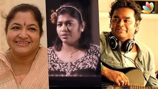 KS Chithra, AR Rahman sister's mashup gift to ARR's 50th Birthday