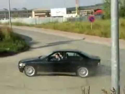 Тест драйв BMW 325i E36 - YouTube