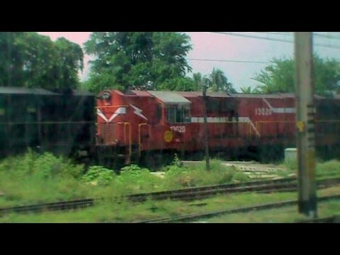 Skipping Burdwan Junction With Stupendous Acceleration And Retardation!! Wap-7 Duronto Goes Gaga video