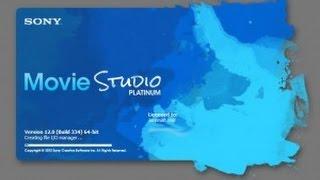 [Sony Movie Studio Platinum 12.0!! Part 1] Video