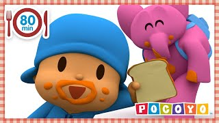 🍅 POCOYO in ENGLISH - A Delicious Meal [ 80 minutes ] | CARTOONS for Children