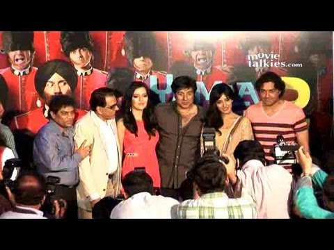 Dharmendra, Sunny Deol, Bobby Deol At 'Yamla Pagla Deewana 2' Trailer Launch