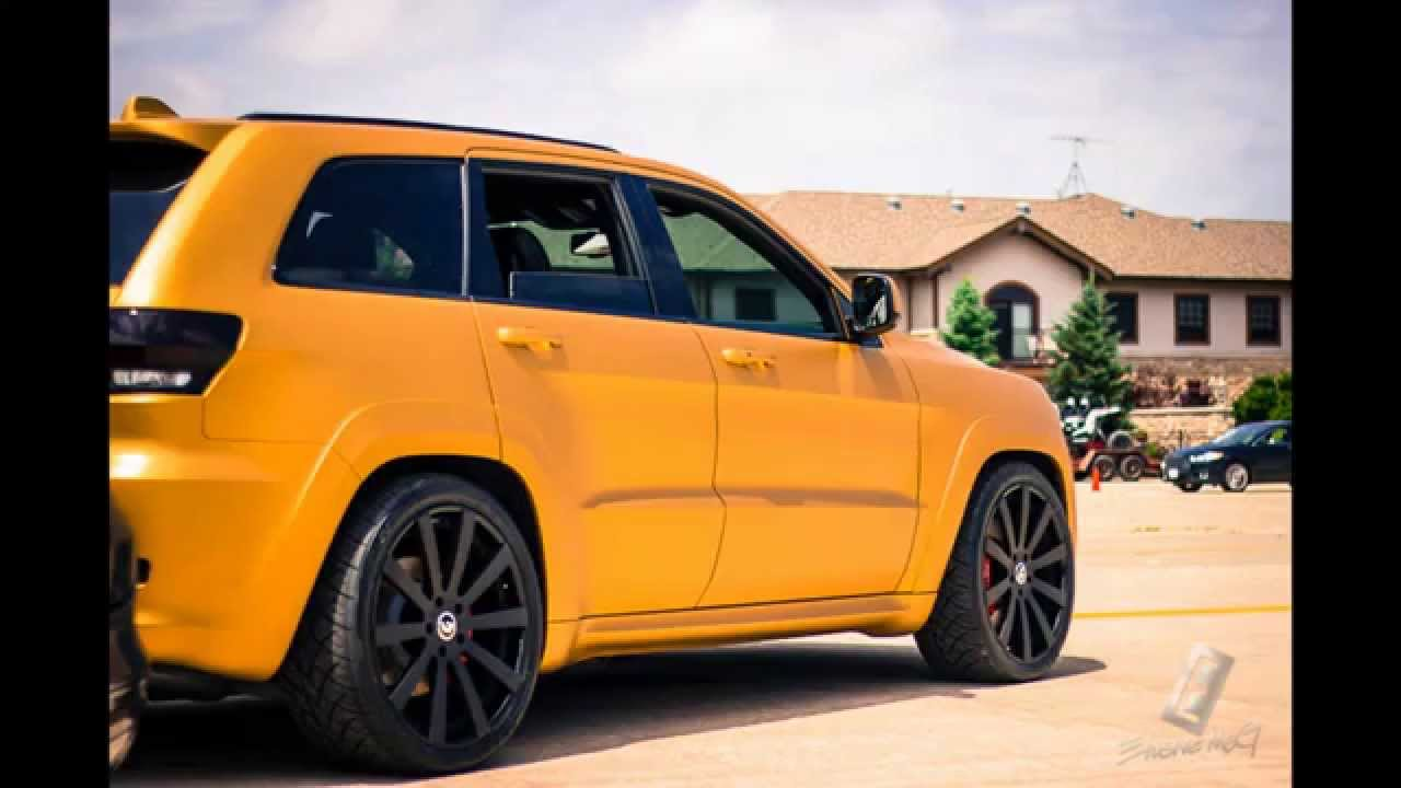Gold 2014 Srt Jeep On 24 Quot Forgiato Youtube