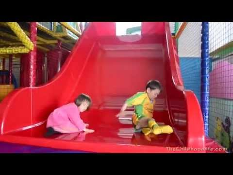 Indoor Playground Slide Fun  | By TheChildhoodlife
