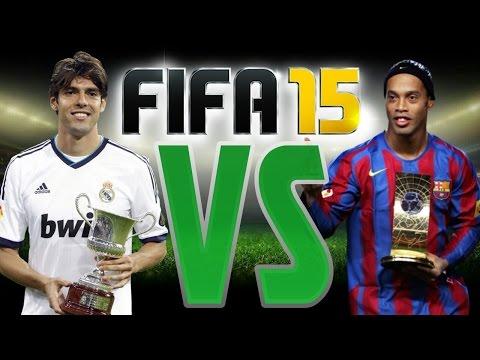 FIFA 15 UT KAKA VS RONALDINHO