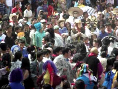 Carnaval Tenango 2012 En La Plaza Principal
