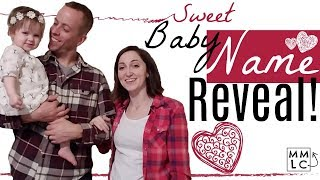 Sweet BABY NAME Reveal!