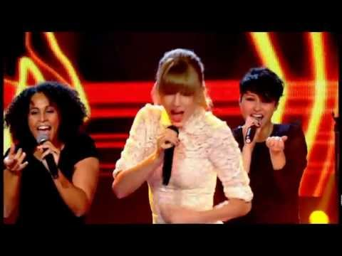 Taylor Swift - 22 (live Let's Dance For Comic Relief) video