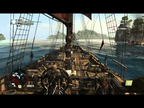 Test - Assassin's Creed 4: Black Flag (Graphismes et Scénario - Partie 1/3) - Xbox 360 PS3