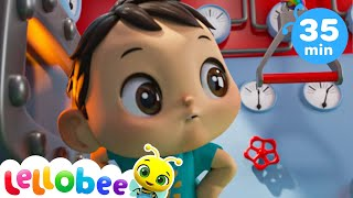 Animals Train Song + More Nursery Rhymes & Kids Songs - Little Baby Bum