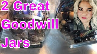 Goodwill Jewelry Jars  Reached For The Moon Found It In Sterling Silver