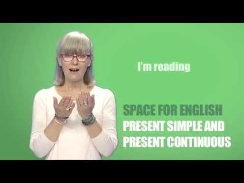 Space for English - PTV  Season 2 Programme 01: Present simple and present continuous