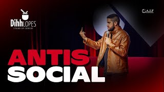 DIHH LOPES - ANTISSOCIAL - SHOW COMPLETO