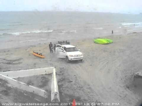 2011-Sep-19 - La Jolla boat launch timelapse