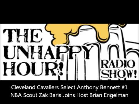 Cleveland Cavaliers Draft Anthony Bennett #1. NBA Scout Zak Baris Joins Brian Engelman To Discuss.