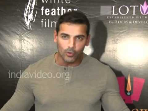John Abraham and Marathi language