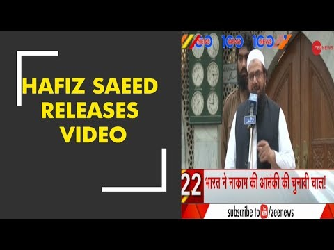 News 100: India is behind the defeat of my candidates in Pakistan election, says Hafiz Saeed