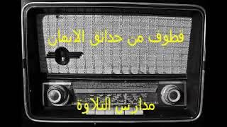 اذاعة القران الكريم  //    قطوف من حدائق الايمان  // احمد عبده ومدارس التلاوة