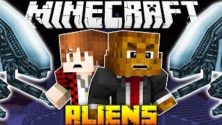 Minecraft ALIEN ABDUCTION ATTACK w/ BajanCanadian & JeromeASF