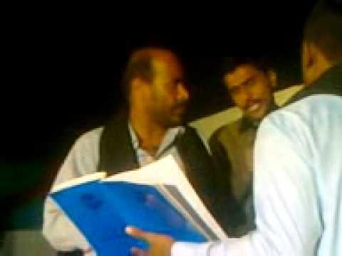 Mukhtiar Ali Sheedi On 22nd Moharam 2012 At Village  Mihan Khan Rind Nawab Shah Noha 6 video