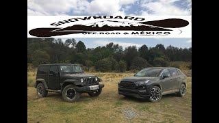 Toyota Rav4 2019 VS Jeep Wrangler JK - Off-Road Test
