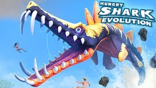NEW SHARK LIOPLEURODON UNLOCKED!! - Hungry Shark Evolution - Ep 36 HD