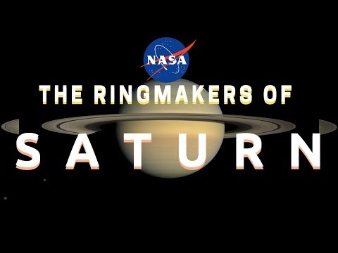 NASA Ringmakers of Saturn UFOs