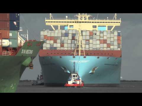 131109 Shipspotting Rotterdam Maersk McKinney Moller
