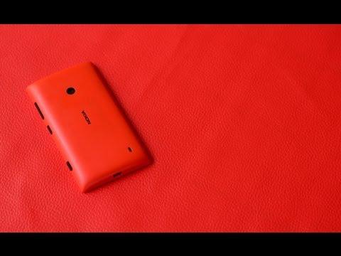Nokia Lumia 520 - Pruebas de Grabación
