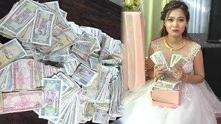 Thanh niên mang hàng nghìn tiền lẻ đi mừng cưới, ai cũng tra'ch nhìn thái độ Cô dâu thì...