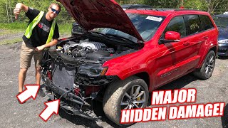 We Tried To Buy an Auction Jeep TRACKHAWK... What a Disaster (Almost got hustled)