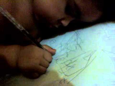 bebe escrevendo carta para o pai