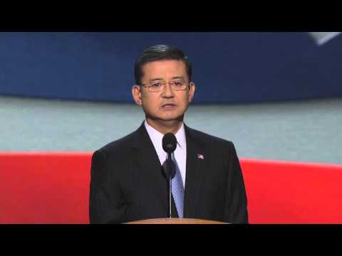 Ret. General Eric Shinseki at the 2012 Democratic National Convention