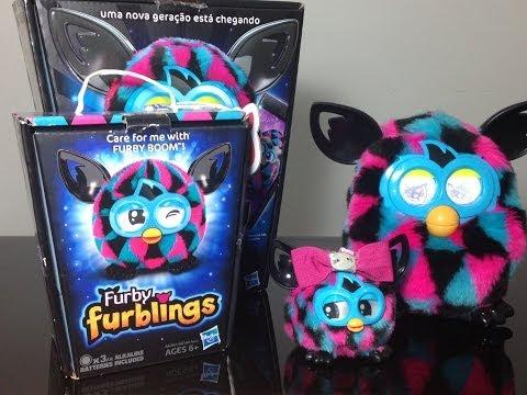 Review: Furblings com ajuda do Furby Boom Julia Silva