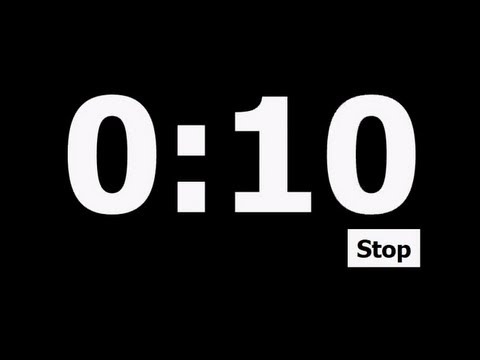 10 Second Countdown Timer video