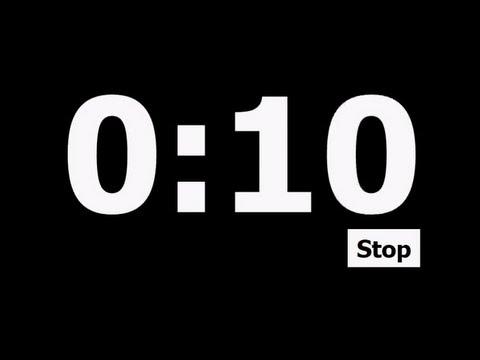 10 sec:
