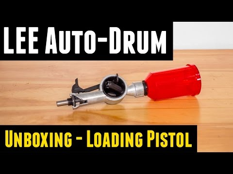 LEE Auto Drum Powder Measure: Unboxing. Overview. Loading Pistol
