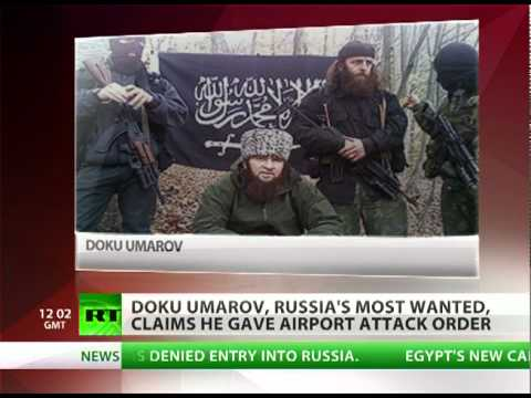 Russia's 'Most Wanted' Doku Umarov claims he ordered Domodedovo bombing